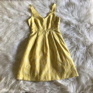 Anthropologie Moulinette Soeurs Yellow Dress